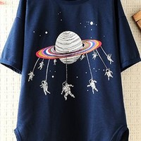 Space Shuttle Loose T-shirt
