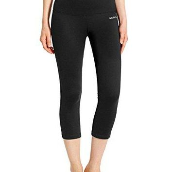Women's  Yoga Capri Leggings Tummy High Waist Control Non See-through Fabric