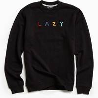 Lazy Oaf Branding Crew Neck Sweatshirt - Urban Outfitters