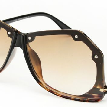 Tika Oversized Retro Sunglasses