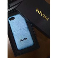 PRADA 2018 new men and women with the same iphoneX mobile phone case cover F-OF-SJK #5