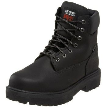 "Timberland PRO Direct Attach 6"" Steel Safety Toe Waterproof Insulated Boot  timberland boots for men"