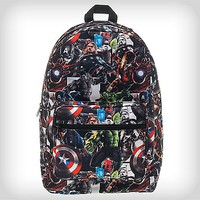 Comic Book Marvel Avengers Backpack - Spencer's