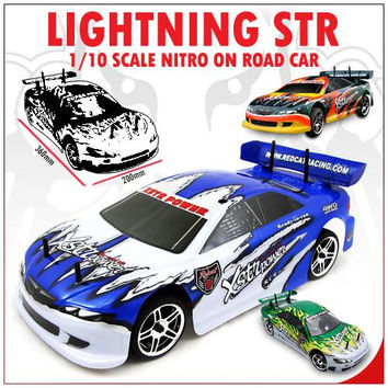 Lightning STR Car 1/10 Scale Nitro (With 2.4GHz Remote Control)