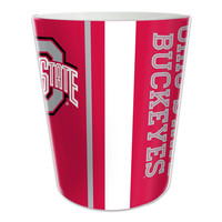 Ohio State Buckeyes NCAA 10 Bath Waste Basket