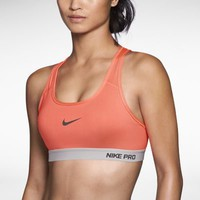 Nike Pro Padded Women's Sports Bra - Bright Mango