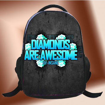 Insanes Minecraft Diamond - SchoolBags.