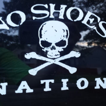 Custom Kenny Chesney No Shoes Nation Car/Boat/Cooler Decal 5.5x7.5