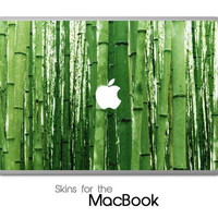 "Bamboo Trees Skin for the MacBook 11"", 13"" or 15"""
