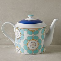 Forbury Teapot by Anthropologie in Turquoise Size: Teapot Serveware