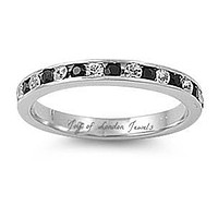 1.9TCW Russian Lab Diamond Engagement Ring Pinky Ring