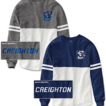 Creighton University Women's Color Block RaRa Long Sleeve T-Shirt | Creighton University