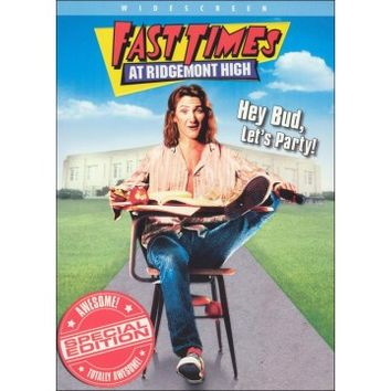 Fast Times at Ridgemont High (DVD) (Special Edition) (Enhanced Widescreen for 16x9 TV) (Eng/Spa) 1982