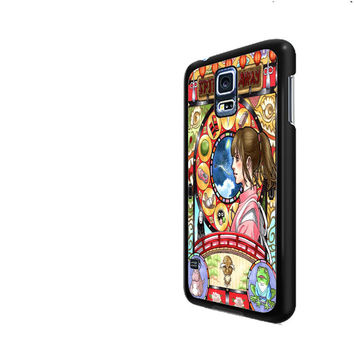 Spirited Away Nouveau Art Cover Samsung Galaxy S3 S4 S5 Cases