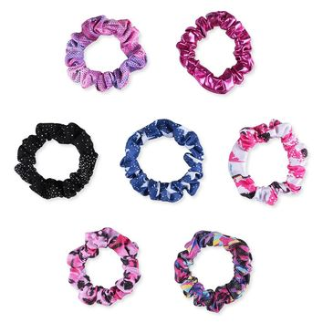 15 Colors Girl Kid Seamless Ultra Elastic Hair Ties Bands Rope Ponytail Headband Scrunchie Rubber Band Hair Accessories