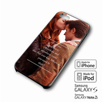 Doctor Who Matt Smith and Amy Pond 11th Doctor Hipster Dr Who Quote Stars Time and Space iPhone case 4/4s, 5S, 5C, 6, 6 +, Samsung Galaxy case S3, S4, S5, Galaxy Note Case 2,3,4, iPod Touch case 4th, 5th, HTC One Case M7/M8