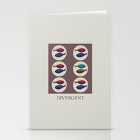 Divergent Stationery Cards by Galen Valle
