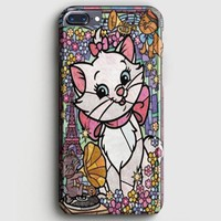 Marie Cat DisneyS The Aristocats Stained Glass iPhone 8 Plus Case