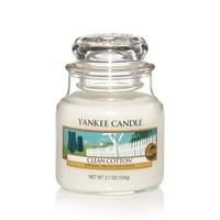 Clean Cotton® : Small Jar Candles : Yankee Candle