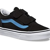 Vans Little/Big Kids Old Skool V Velcro Skate Shoe