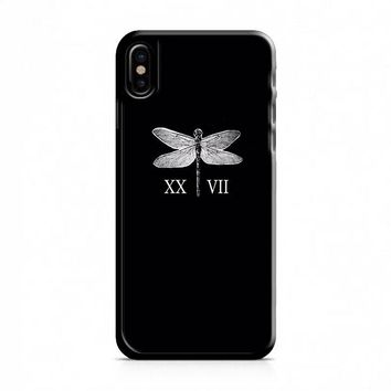 Lauren Jauregui Dragonfly Tattoos iPhone X Case