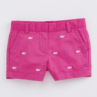 Girls Whale Embroidered Boulevard Shorts