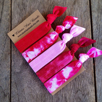 The Isla Hair Tie-Ponytail Holder Collection by Elastic Hair Bandz on Etsy