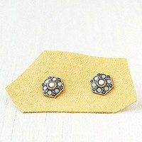 Vintage Stone Studs at Free People Clothing Boutique