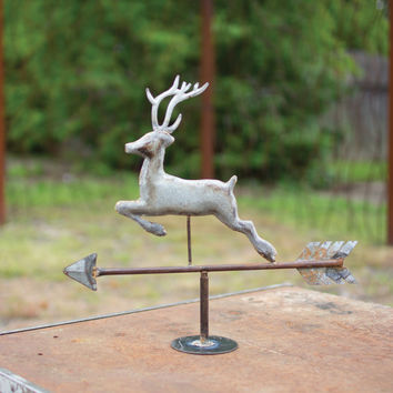 Table Top Zinc Weathervane- Deer