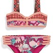 Girl's Maaji 'Royal Riders' Reversible Two-Piece Swimsuit,