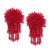 Belle Fleur Earrings | Rouge