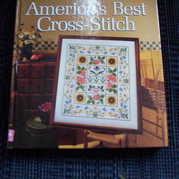 Better Homes and Gardens America's Best Cross Stitch Pattern Book