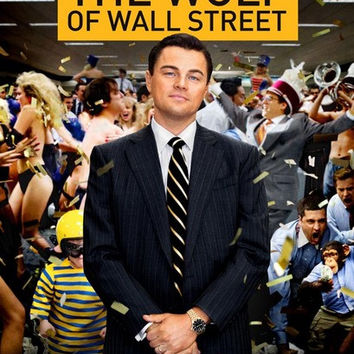 Wolf of Wall Street Movie Poster 11x17