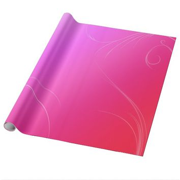 Hot Pink Wrapping Paper