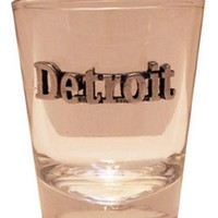 DCCKG8Q Detroit Pewter Shot Glass