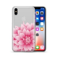 The Dahlia - Clear TPU Case Cover