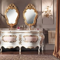 DOUBLE VANITY UNIT WITH DRAWERS 11646 | VANITY UNIT | MODENESE GASTONE GROUP