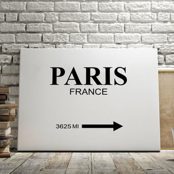 "CUSTOMIZE PRINT Prada Marfa ""PARIS City"" Print Typography Art Print Gift for Him Fashion Art Art Prada Marfa Sign Like in Gossip Girl Print"