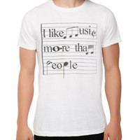 Music More Than People T-Shirt