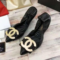 Chanel Women Heels Shoes