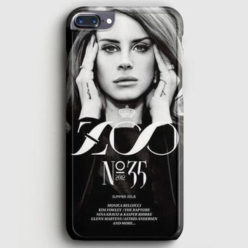 Lana Del Rey Cigarettes iPhone 8 Plus Case