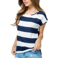 Seaside Stripe Tee