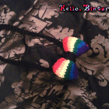 Rainbow Hairbow Headband