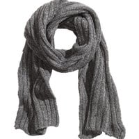 Rib-knit Scarf - from H&M
