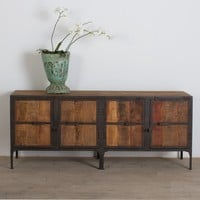 Hyderabad Reclaimed Wood and Metal Buffet - Buffets & Sideboards - Dining