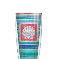 Beach Theme Tumbler -- Customize with your monogram or name!