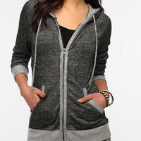 Urban Outfitters - Breezy Zip-Up Hoodie Sweatshirt