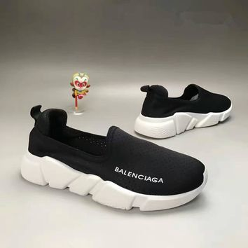 balenciaga summer fashion casual breathable mesh surface unisex sneakers couple runnin