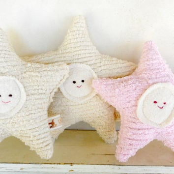 Twinkle Waldorf Toy - Eco Kids Toy  Plush - Natural - Eco-Friendly Baby Shower Toy