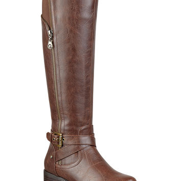 G by GUESS Women's Halsey Tall Shaft Riding Boots